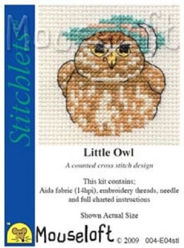 Mouseloft Stitchlets  Little Owl